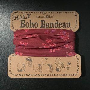 Natural Life Half Boho Bandeau Head-Wrap